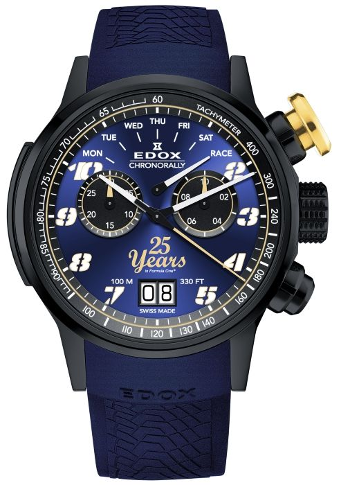 Edox Chronorally Sauber F1 Team 25th Anniversary Limited Edition